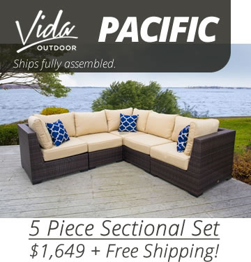 Vida Pacific 7 Piece Set - Ships in 1 Day!