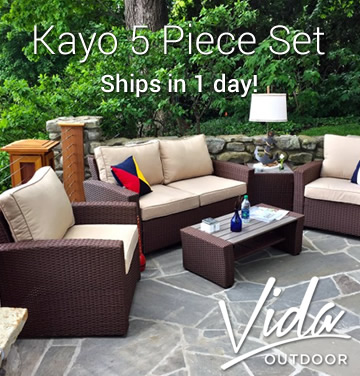 Vida Kayo 5 Piece Set - Ships in 1 Day!
