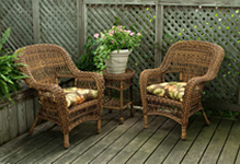Wicker Chat Sets