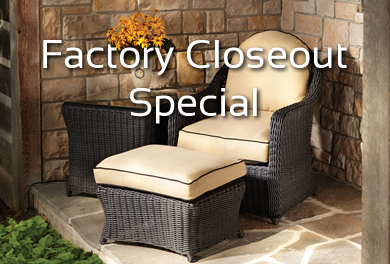 Lloyd Flanders Cottage - Factory Closeout Special