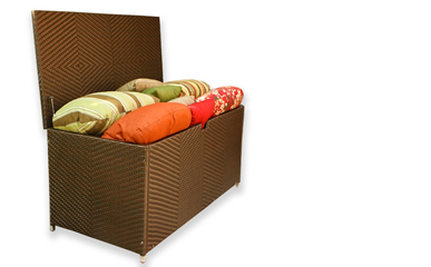 Tortuga Outdoor Ottomans & Storage