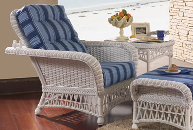Classic Rattan Lounge Chairs
