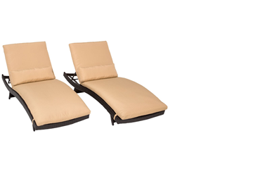 TK Classics Chaise Lounges & Daybeds