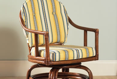 Classic Rattan Dining Chairs