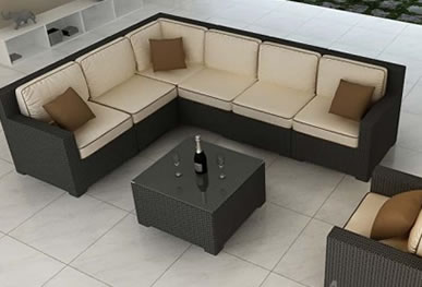 Forever Patio Sectional Sets