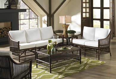 Wicker Living Room Sets