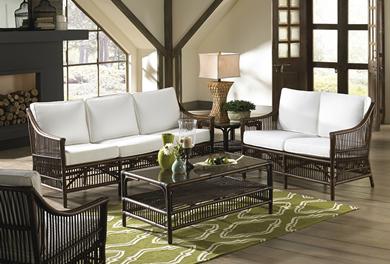 Wicker Living Room SetsIndoor Wicker Living Room Furniture   WickerCentral com. Living Room Chair Beds. Home Design Ideas