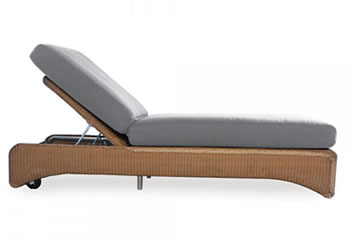 Lloyd Flanders Chaise Lounges