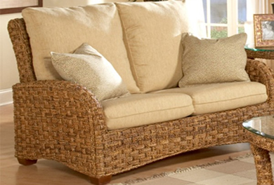 Indoor Wicker Living Room Furniture - WickerCentral.com