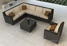 Forever Patio Wicker Sectionals Sets