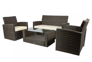 Modern Wicker Conversation Sets