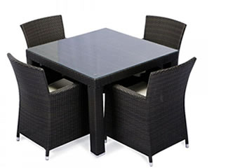 Outdoor Wicker Dining Sets WickerCentralcom