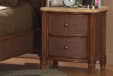 Classic Rattan Nightstands, Dressers & Chests