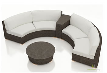Curved Sectional Sets
