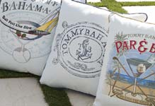 Tommy Bahama Outdoor Living Paradise Pillows