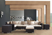 Wicker Sectional Pieces
