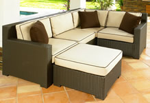 Wicker Sectionals