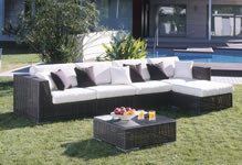 Hospitality Rattan Wicker Sectional Sets