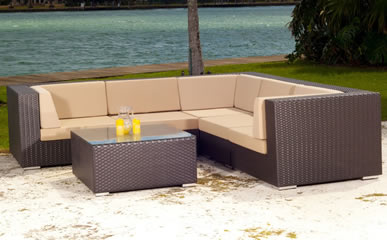 Source Outdoor Sectional Sets