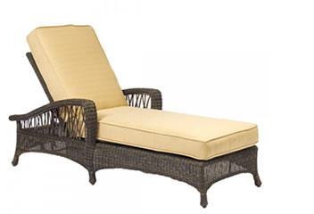 WhiteCraft by Woodard Chaise Lounges