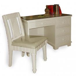 indoor wicker home office furniture - wickercentral