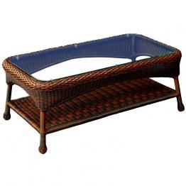outdoor wicker coffee tables - wickercentral