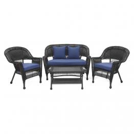 Traditional wicker conversation sets for Agio wicker chaise lounge