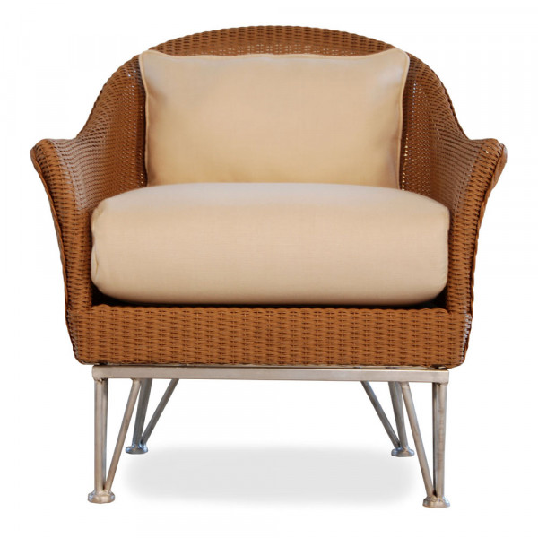 Lloyd Flanders Mod Wicker Lounge Chair - Replacement Cushion
