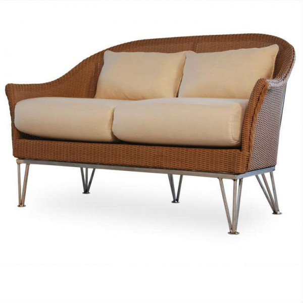 Lloyd Flanders Mod Wicker Loveseat - Replacement Cushion