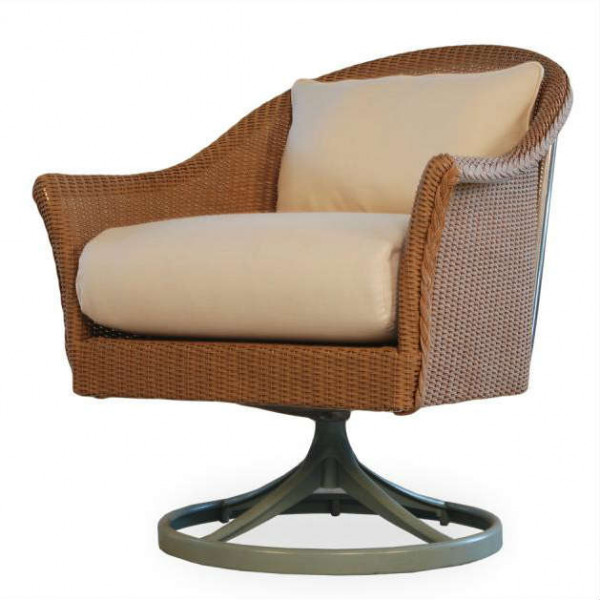 Lloyd Flanders Mod Wicker Swivel Rocker - Replacement Cushion