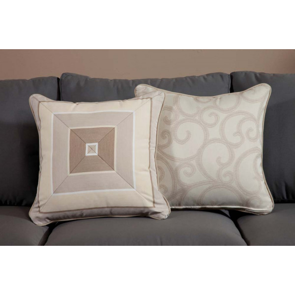 South Sea Rattan All Weather Milano Medium Throw Pillow