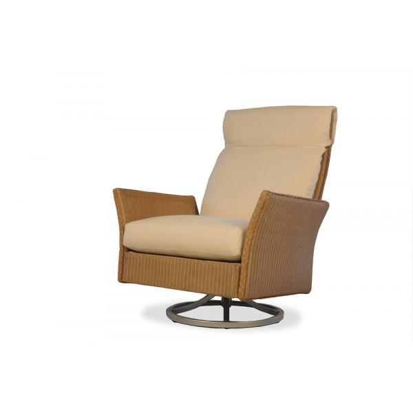 Lloyd Flanders Nova Wicker Swivel Rocker - Replacement Cushion