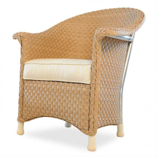 Lloyd Flanders Savannah Wicker Dining Chair - Replacement Cushion