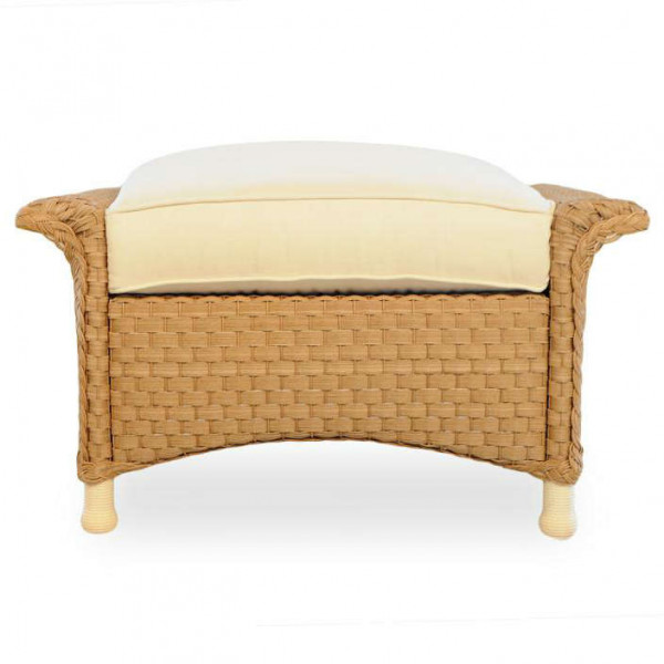 Lloyd Flanders Savannah Wicker Ottoman - Replacement Cushion