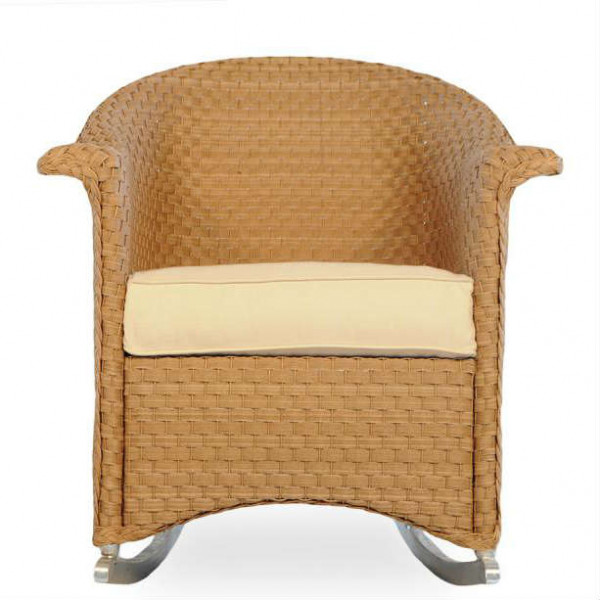 Lloyd Flanders Savannah Wicker Porch Rocker - Replacement Cushion
