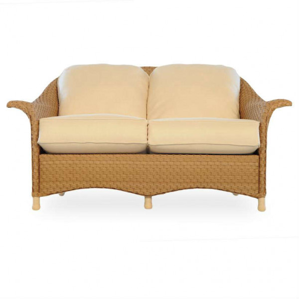 Lloyd Flanders Savannah Wicker Loveseat - Replacement Cushion