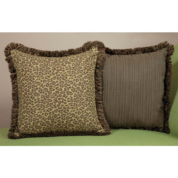 Throw Pillows For Wicker Furniture : South Sea Rattan All Weather Wild Thing Large Throw Pillow - WickerCentral.com