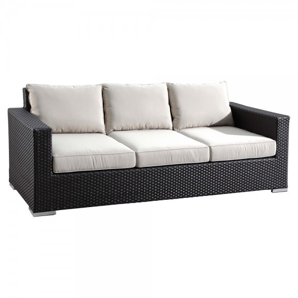 Sunset West Solana Wicker Sofa - Replacement Cushions