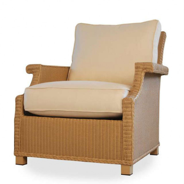 Lloyd Flanders Hamptons Deep Lounge Chair Replacement Cushion WickerCentr
