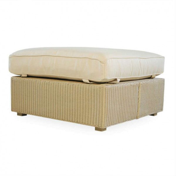 Lloyd Flanders Hamptons Large Wicker Ottoman