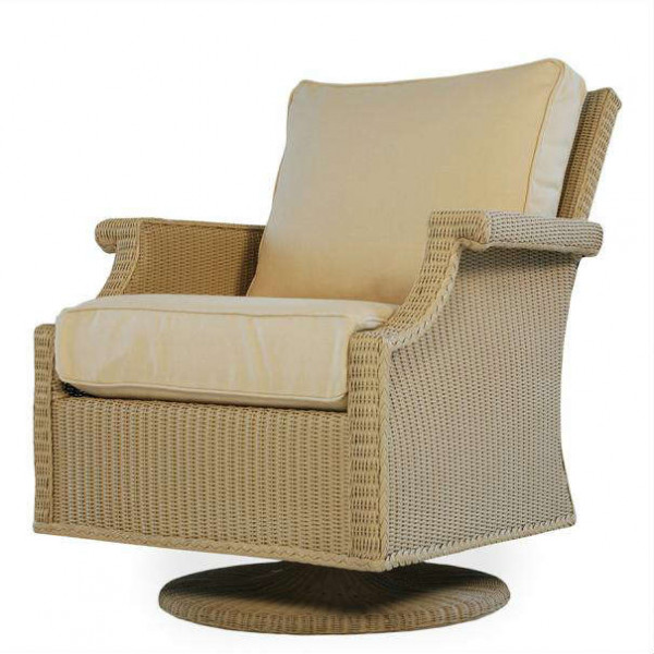 Lloyd Flanders Hamptons Wicker Swivel Rocker - Replacement Cushion