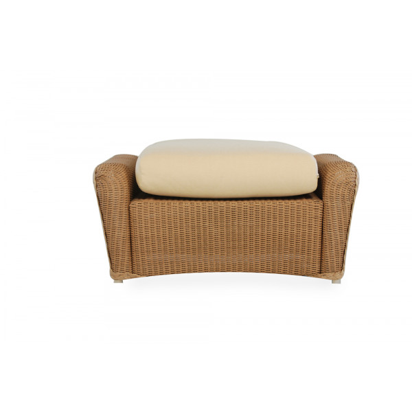Lloyd Flanders Natchez Wicker Ottoman - Replacement Cushion