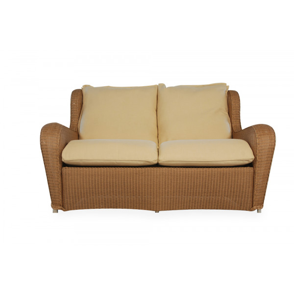 Lloyd Flanders Natchez Wicker Loveseat - Replacement Cushion