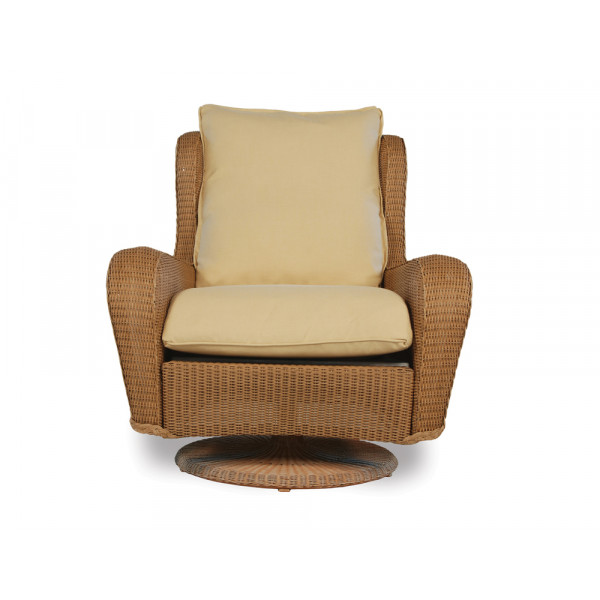Lloyd Flanders Natchez Wicker Swivel Rocker - Replacement Cushion