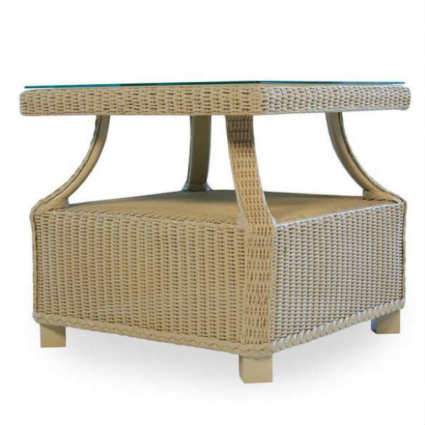 Lloyd Flanders Hamptons Wicker End Table