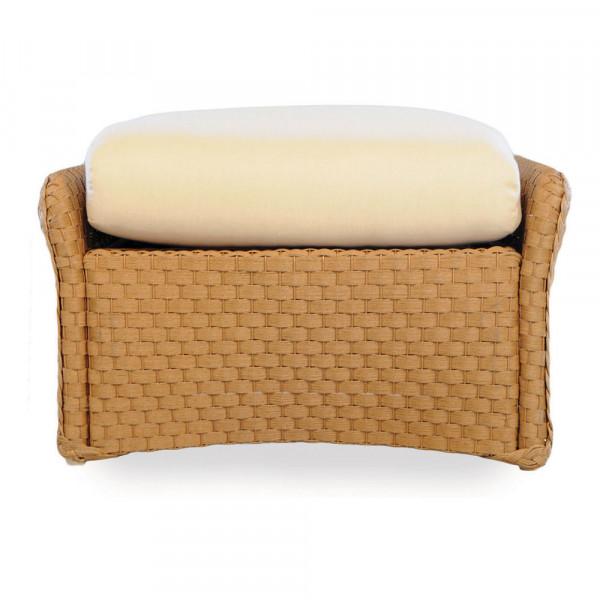Lloyd Flanders Weekend Retreat Wicker Ottoman - Replacement Cushion