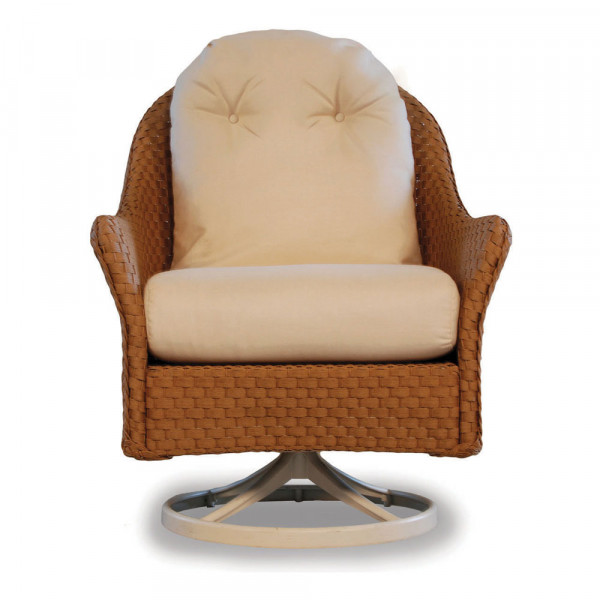 Lloyd Flanders Canyon Highback Wicker Swivel Rocker - Replacement Cushion