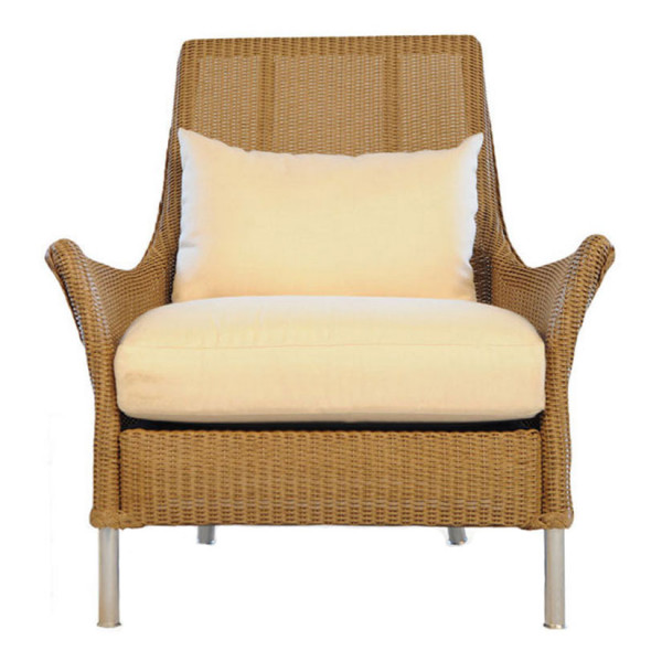 Lloyd Flanders Fusion Highback Wicker Lounge Chair - Replacement Cushion