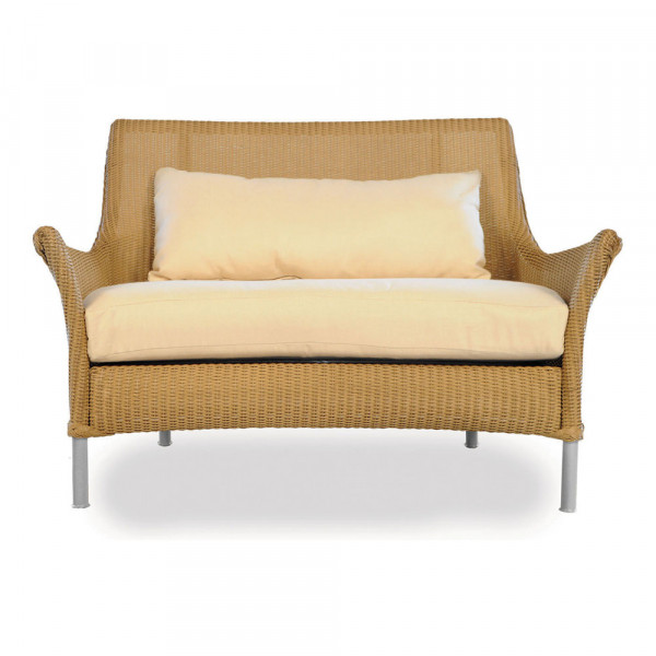 Lloyd Flanders Fusion Wicker Chair-and-a-Half with Square Back - Replacement Cushion