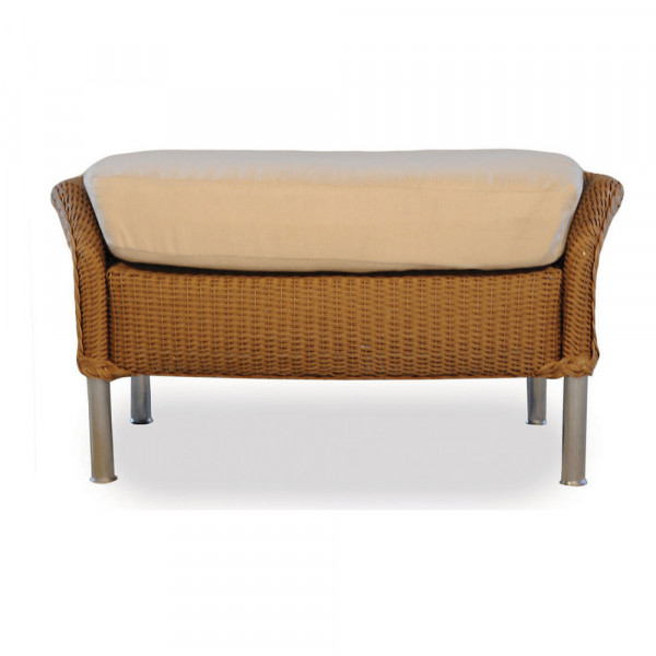 Lloyd Flanders Fusion Wicker Ottoman - Replacement Cushion